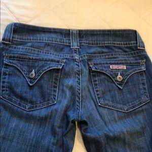 Hudson Crop Flared Jeans
